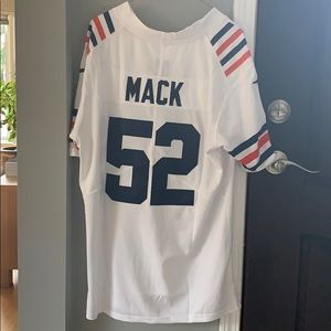 Chicago Bears Throwback Jersey, Mack, Size Medium